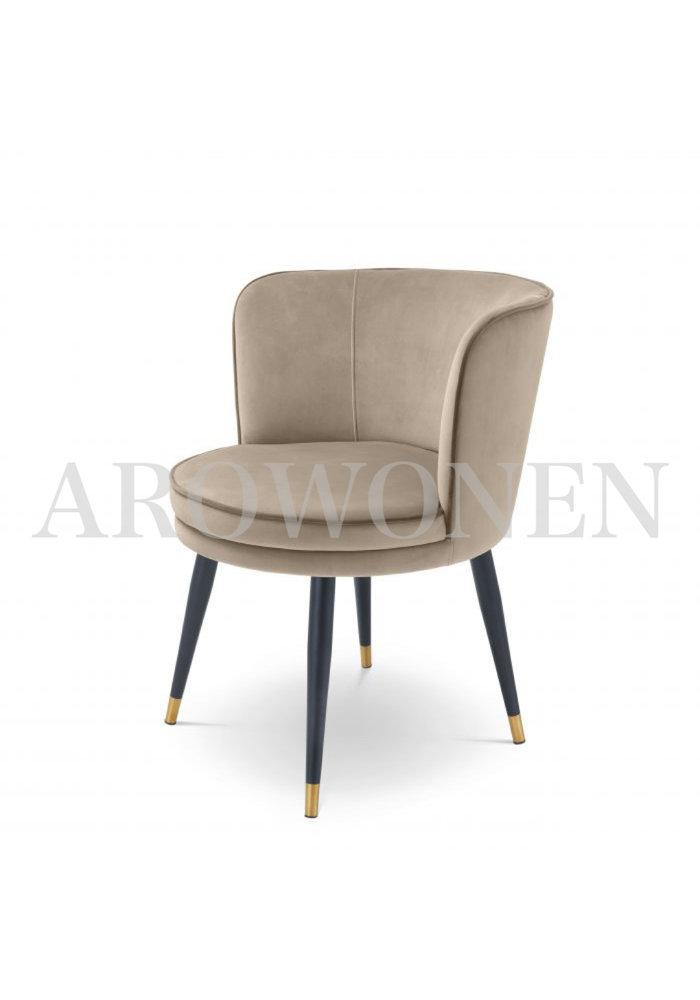 Chaise de salle à manger - Ava tan