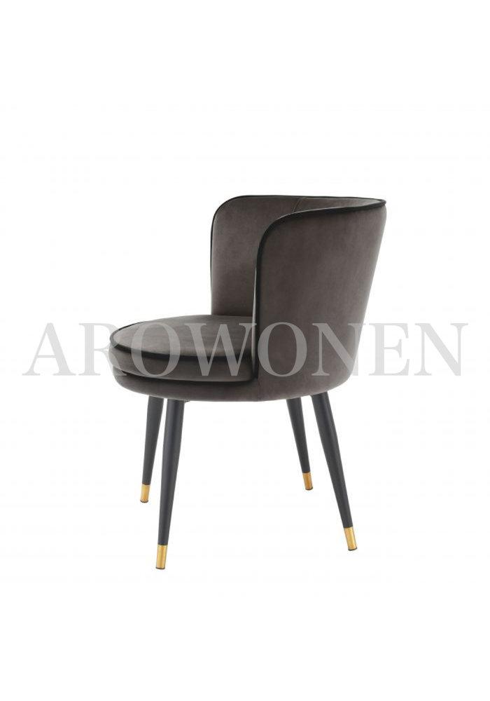 Chaise de salle à manger - Ava bistre
