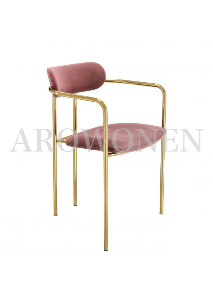 Dining chair - Luna maroon