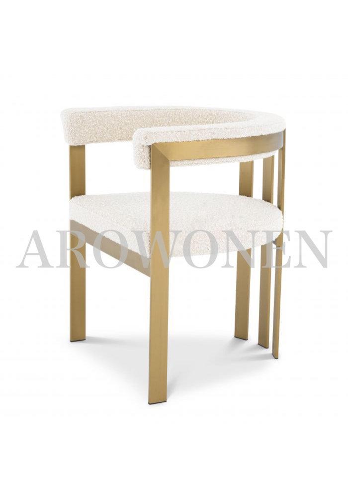 Chaise de salle à manger - Sofia white