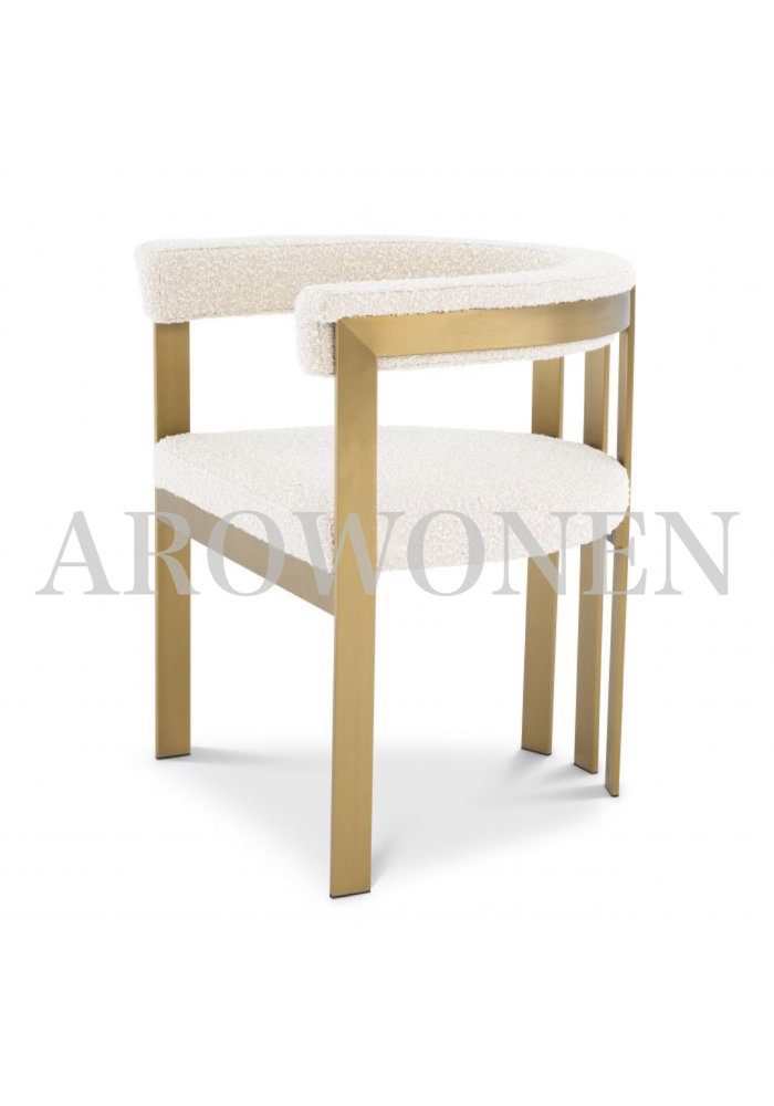 Dining chair - Sofia white
