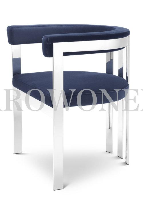 Chaise de salle à manger - Sofia indigo
