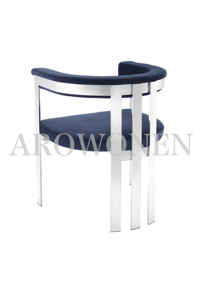Dining chair - Sofia indigo
