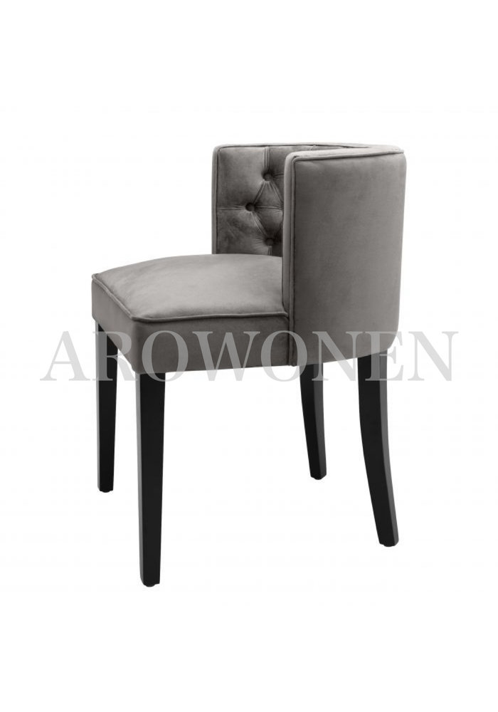 Dining chair - Penelope grey