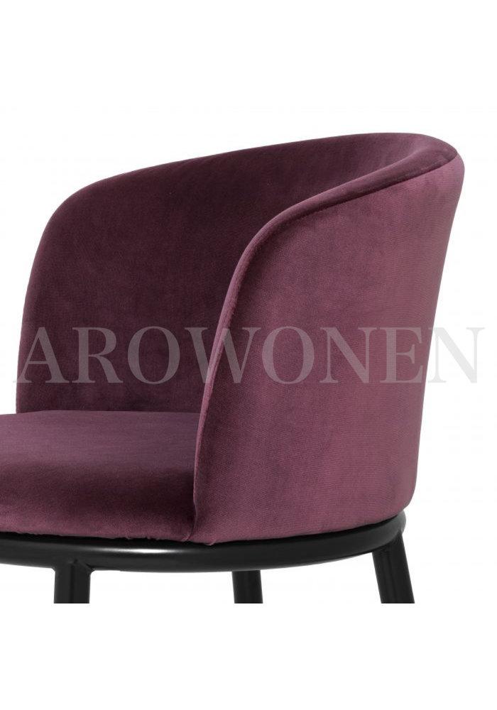 Dining chair - Saint plum