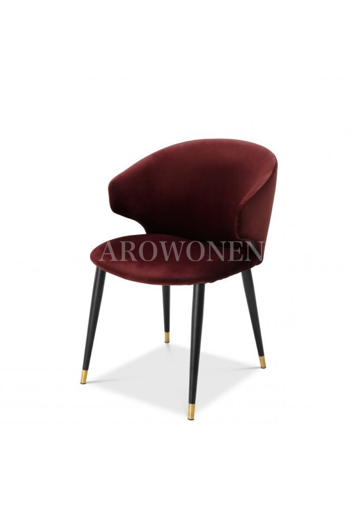 Dining chair - Stella bordeaux