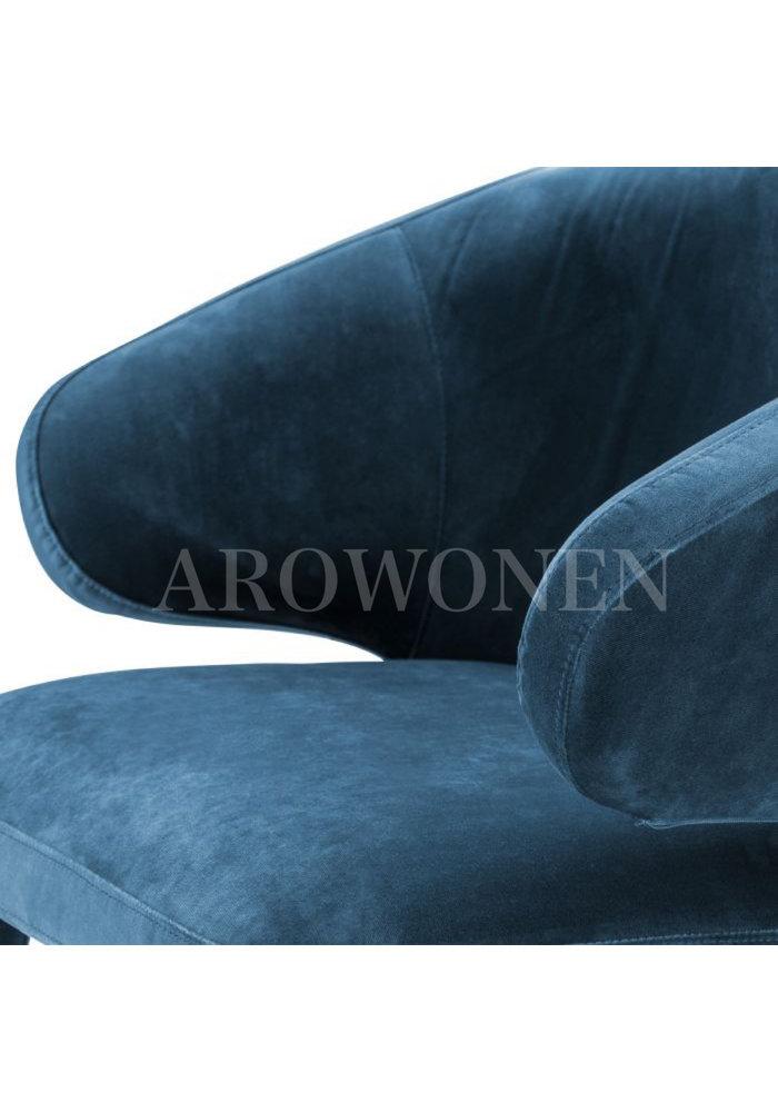 Chaise de salle à manger - Matthew blu