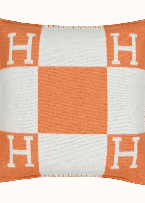 Hermés Decorative cushion -  Avalon - orange