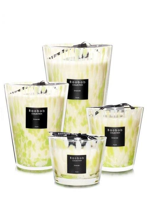 Baobab Candle - EMERALD PEARLS