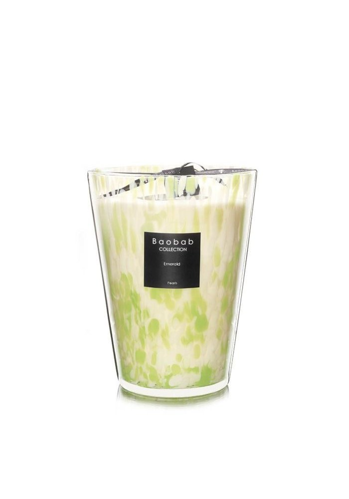 Candle - EMERALD PEARLS