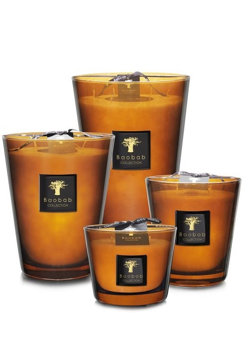 Baobab Candle - LES PRESTIGIEUSES - CUIR DE RUSSIE