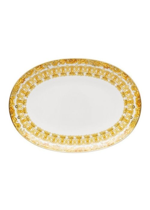 Versace Medusa - Oval Platter 33 cm
