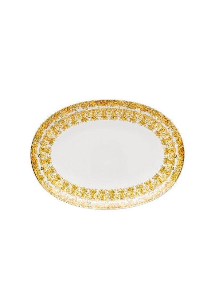 Versace Medusa Rhapsody Oval Platter 33 cm