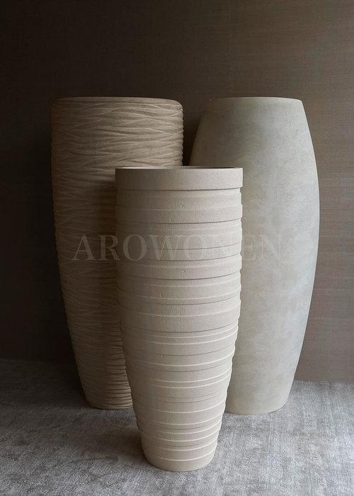 Vase - Moonstone