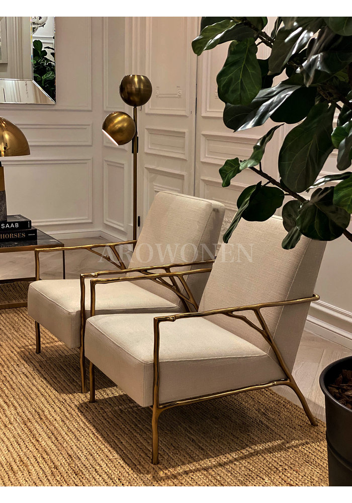 Chair - Claire - gold