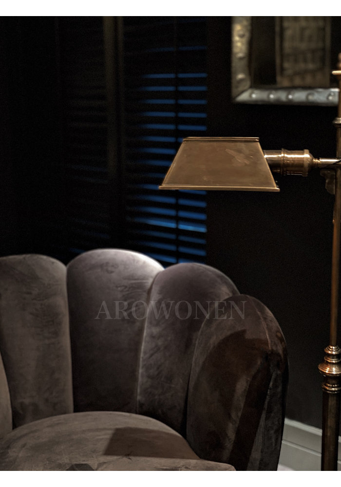 Armchair - Lucinda - charcoal