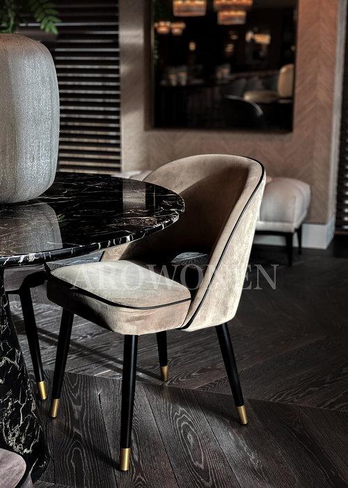 PRE ORDER - Chaise de salle à manger - Milan  antraciet