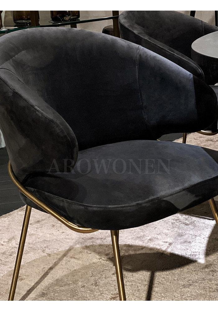 Chaise de salle à manger -  Camila metal