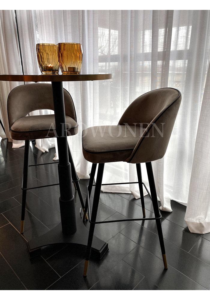 Bar stoel - Camila - Grey