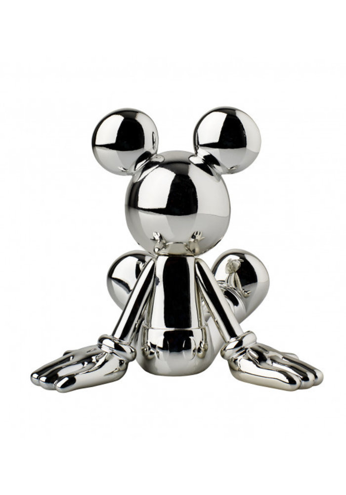 Sitting Lil Mickey - Zilver