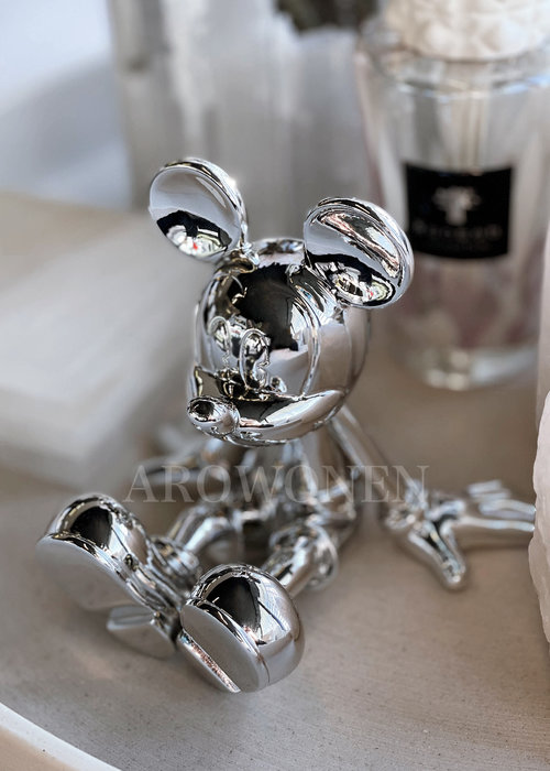 Disney Sitting Lil Mickey - Silver