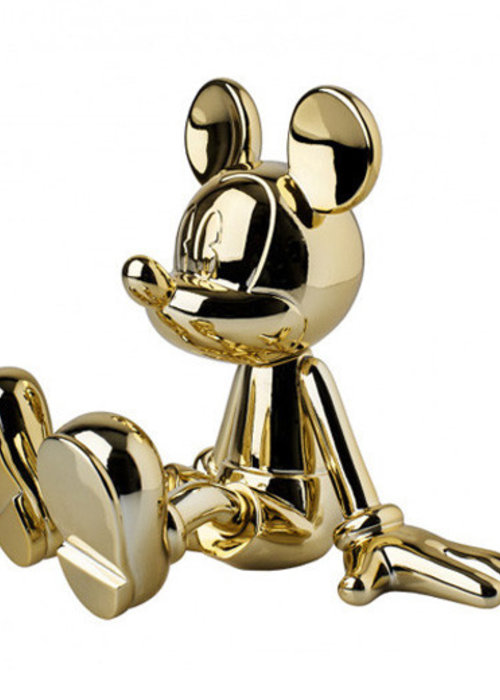 Disney Sitting Lil Mickey - Goud