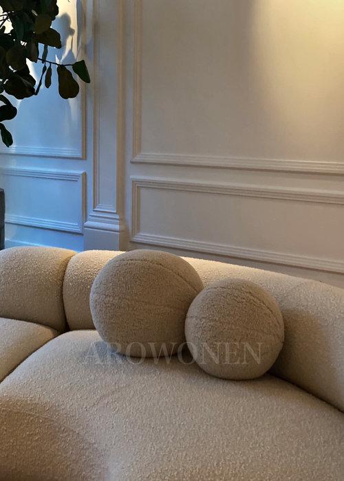 PRE - ORDER - Decorative  Cushion - Cookie Cream - S