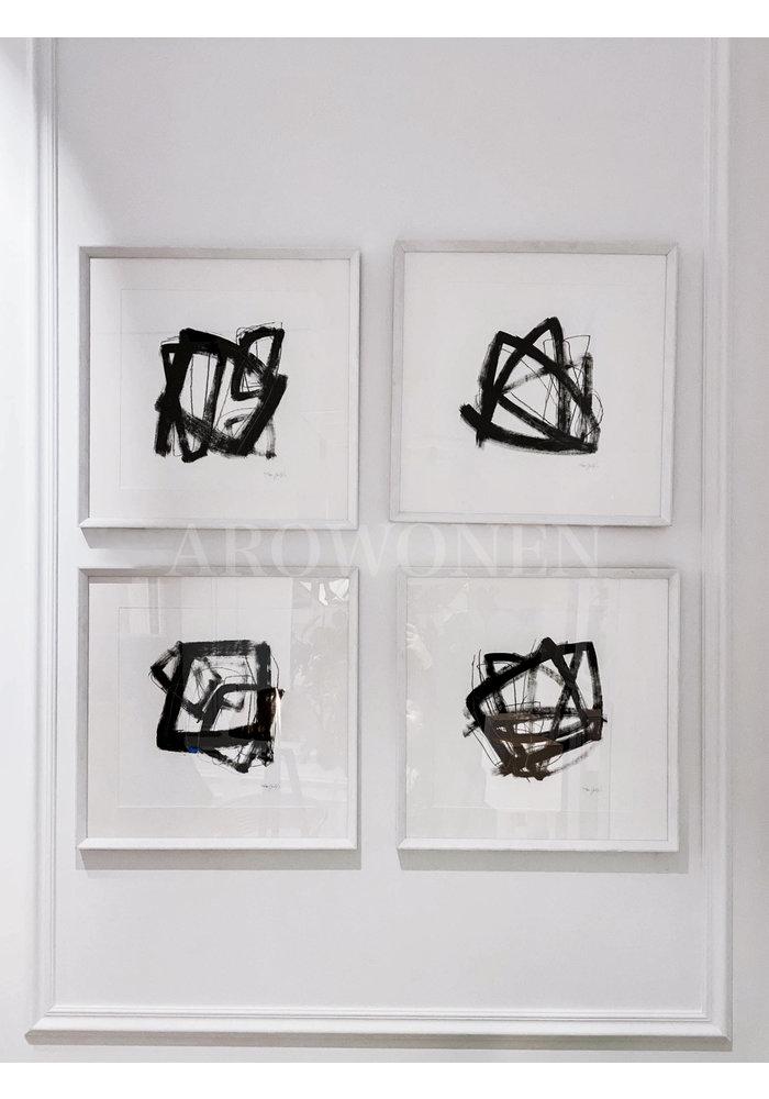 Frame - Prints /  Tessellation - Set of 4