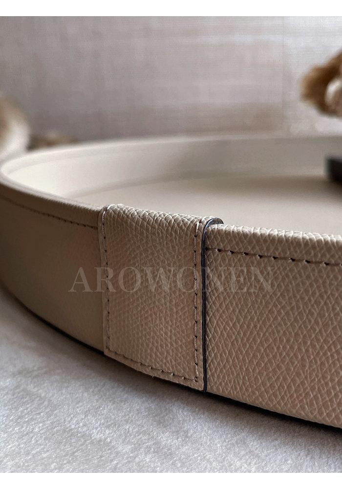 Tray Circular - Pellerelli Taupe