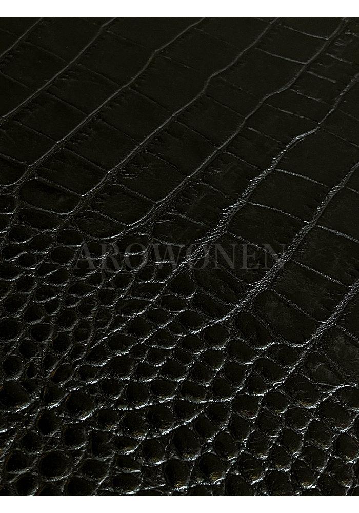 Tray Circular - Crocké Black