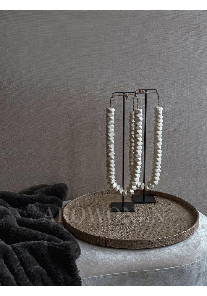 Tray Circular - Crocké Sand