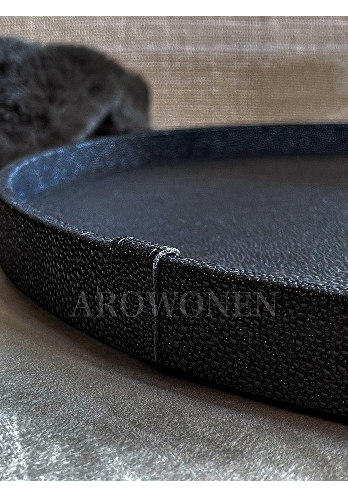 Tray Circular - Arnavi Black