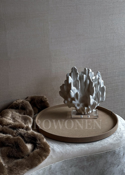MORADO Dienblad Circular - Arnavi Taupe