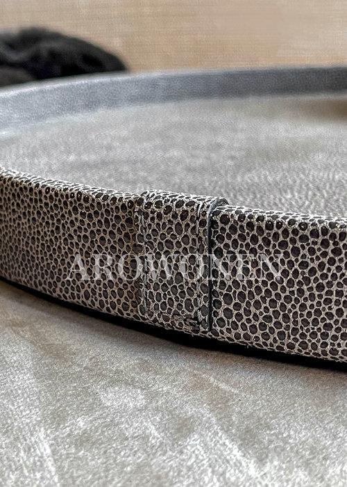 ✩ MORADO Tray Circular - Arnavi Grey