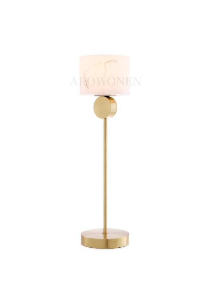 Table Lamp - Marble atmosphere square gold