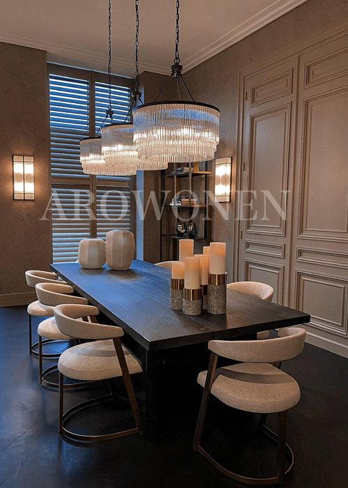 Chaise de salle à manger - Hugo Brass