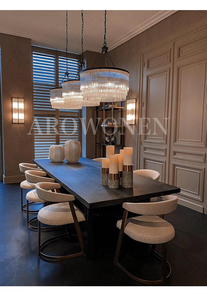 Dining chair - Hugo Brass