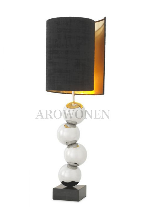 Table Lamp - Zion Nickel