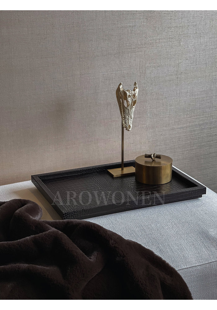 Tray -  Crocké Brown