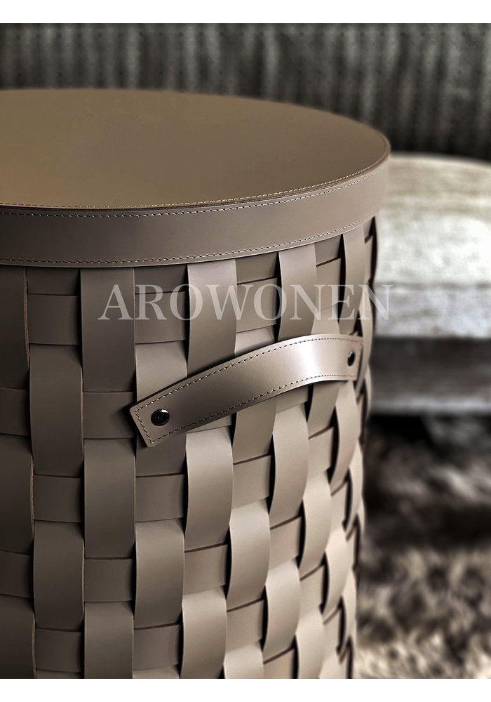 Laundry basket - Osmotic Low - Taupe