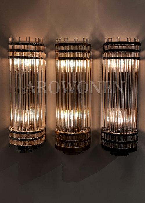 Wandlamp - Orson - brass