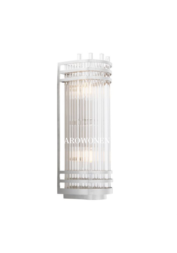 Wandlamp - Orson - Nickel