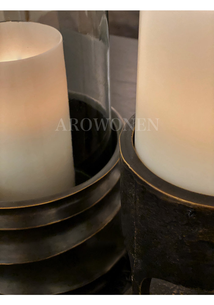 Candle Holder - Reese bronze