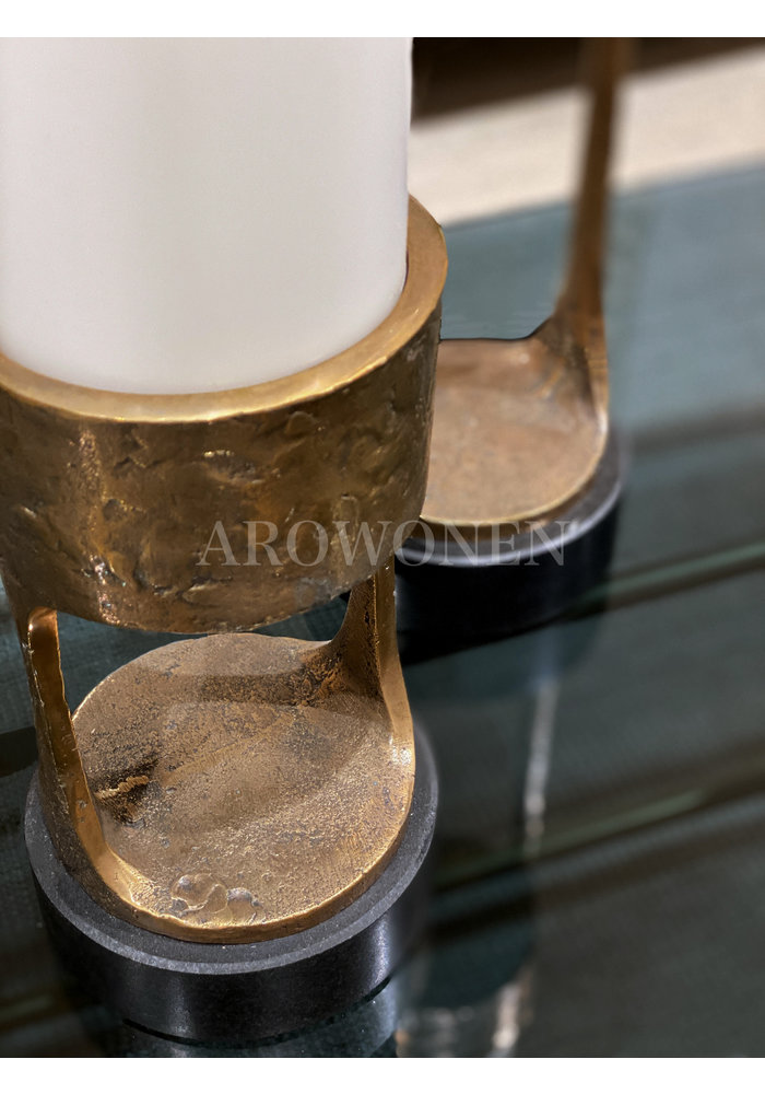 Candle Holder - Cate brass - S