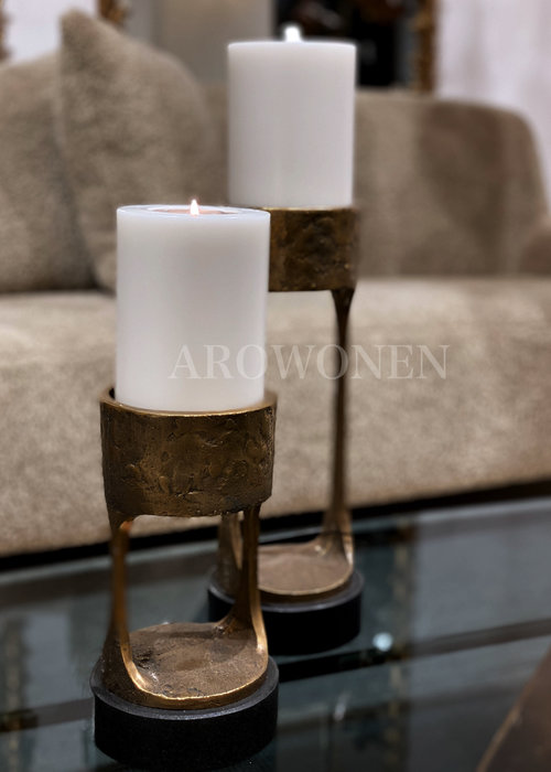 Candle Holder - Cate brass - L
