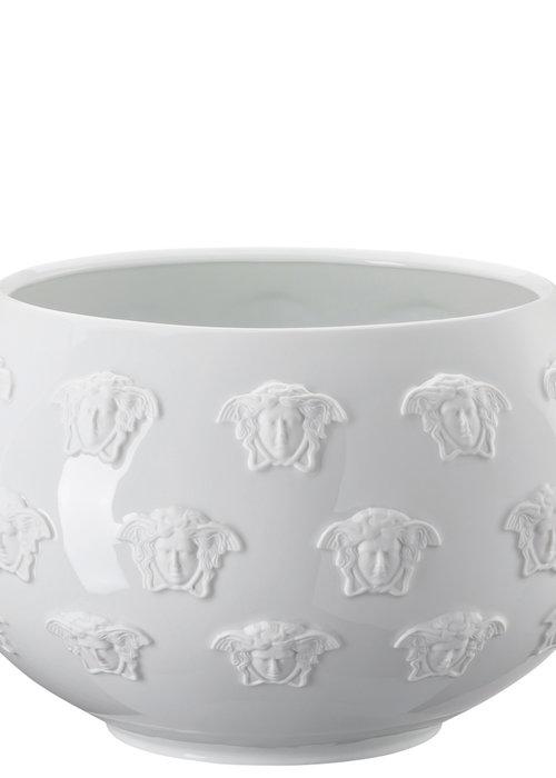Versace Medusa - Dish/Vase  All white