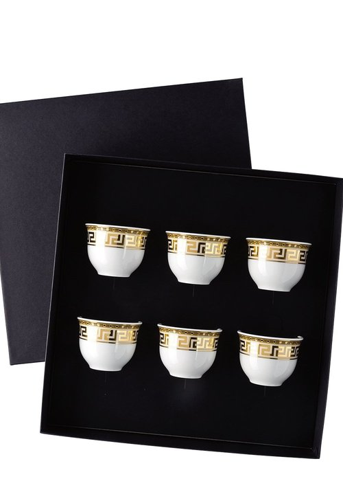Versace Prestige Gala - Set of 6 Espresso mugs