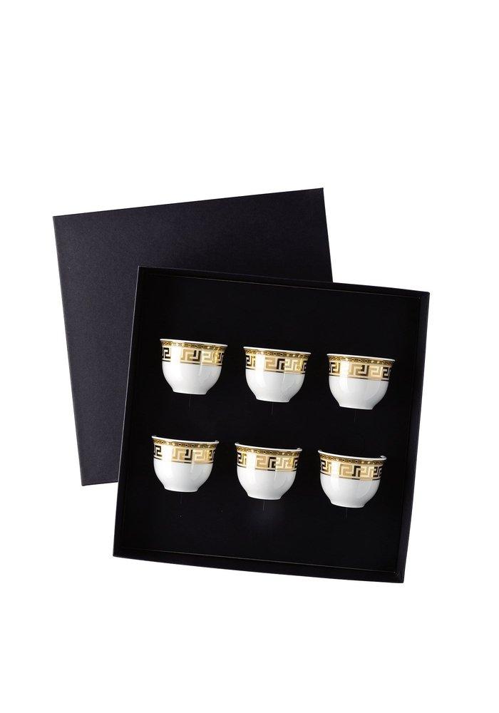 Prestige Gala - Set of 6 espresso mugs