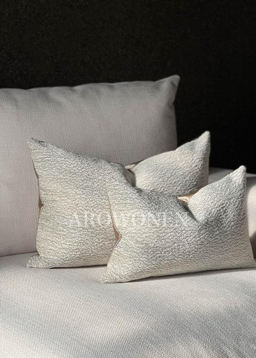 AROWONEN Decorative Cushion - Mahina - Biscuit
