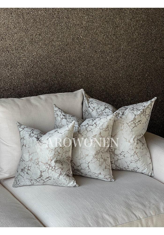 Decorative Cushion - Marble - Rose